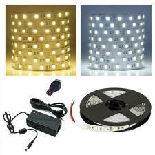 LED Strip warmweiss Streifen 5m kaltweiss Band Leiste dimmbar 10M 20M Netzteil