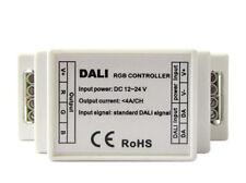 DALI Led RGB Controller Centralina 3 Canali DC12V 24V 3X4A Attacco Guida Rotaia