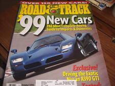 Road & Track Magazine Oct 1998 Nissan R390 GT1