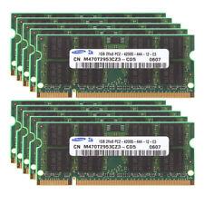 DDR2 For Samsung 1GB 2GB 4GB PC2-4200 533Mhz 200Pin Laptop RAM Memory SODIMM LOT