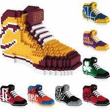 NBA Basketball 3D BRXLZ Team Sneaker Logo Puzzle Construction Block Set - Pick T