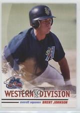 2004 Grandstand Northwest League All-Stars #BRJO Brent Johnson Everett AquaSox