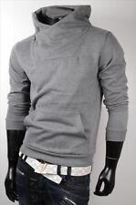 Sweatshirt Hoodie Herren Pullover in Schwarz .dunkelgrau .Hallgrau S M L XL XXL