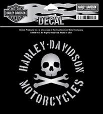 HARLEY DAVIDSON STEIN SKULL 4 INCH  DECAL