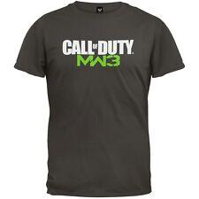 Call of Duty - MW3 logo Adult Mens T-Shirt