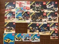 Lego instructions Space e City 6809 6987 6952 6875 6847 6690 6686 6882 6885 6770