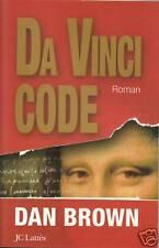 Livre Da vinci code Dan Brown book