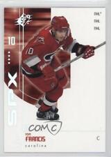 2002-03 SPx #12 Ron Francis Carolina Hurricanes Hockey Card