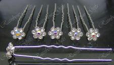 Boda Hair Pins Prom Dama Flower Girl Bridal Hair Pins