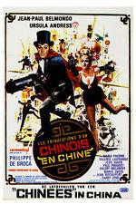 Les tribulations d'un Chinois en Chine Jean-Paul Belmondo Ursulla Andress poster