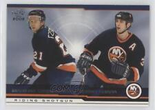 2001 Pacific #415 Mariusz Czerkawski Zdeno Chara New York Islanders Hockey Card
