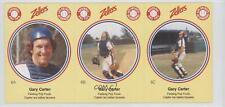 1982 Zellers Baseball Pro Tips Montreal Expos #6 Gary Carter Card
