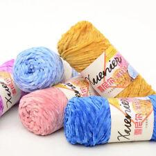 100g/ball Chenille Velvet Yarn Thread Hand-knitted Soft Woven Yarn DIY Hat Scarf