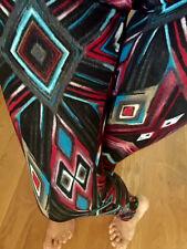 Diamonds Aztec Tribal leggings JERSEY Hachi sweater knit POLYESTER S M L