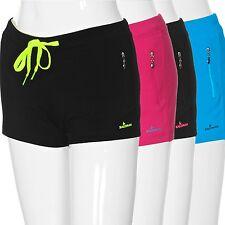 Damen Sporthose Short kurze Fitness Hose Laufhose Funktionsshorts Pants NEU
