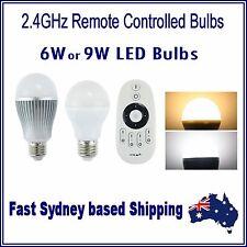 Mi.Light E27 LED Bulb - Colour Temp Adjustable Dual White CW/WW 2.4G Remote WiFi