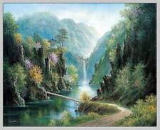 91177 LAKE SANJUNG METALLIC FOIL ART Decor WALL PRINT POSTER CA