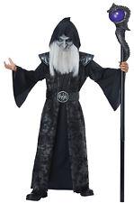 Evil Dark Wizard Scary Child Costume