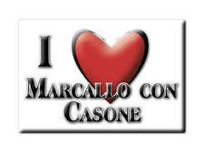 CALAMITA LOMBARDIA FRIDGE MAGNETE SOUVENIR I LOVE MARCALLO CON CASONE (MI)