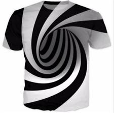 New Women Men Hypnosis Funny 3D Print T-Shirt Casual Short Sleeve Tee Tops S-5XL