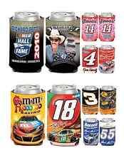 NASCAR Racing Driving 12 oz can cooler 2 pk set- K-T- Pick your favorite!