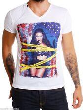 Rerock Party Herren T-Shirt  RR-1105 weiß