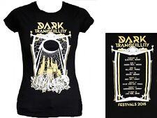 DARK TRANQUILLITY  Festivals 2015  Girlie Girly Girl Shirt - Größe Size S M L XL