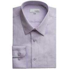 Modena Men's Slim Fit Long Sleeve Dress Shirt - Colors