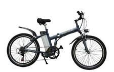 """Byocycles BOXER 24"""" Ruote in Lega Telaio Pieghevole Elettrica Mountain Bike 6 velocità"""