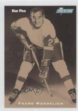 1991-92 Star Pics Autographs Autographed #27 Frank Mahovlich Auto Hockey Card