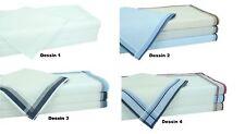 Betz 4 Stück Herren Stoff Taschentücher in der Geschenkbox 100% Baumwolle
