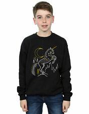 Harry Potter Niños Unicorn Line Art Camisa De Entrenamiento