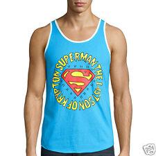 Superman Turquoise Tank Top New DC Comics