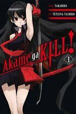 Akame ga KILL!, Vol. 1 by Takahiro Book The Cheap Fast Free Post