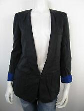 GUESS Damen Jacket Jacke Blazer Vest W23N01 Schwarz Neu