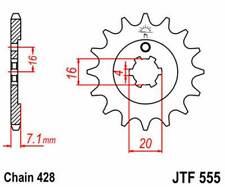 F55515: JT SPROCKETS Piñon JT 555 de acero con 15 dientes