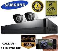 Samsung SDH-P4021/UK Cctv 1080p HDTV 2TB Kit de seguridad híbrido cámaras de bala