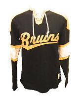 Boston Bruins MENS CCM Vintage Crew Sweatshirt Pullover
