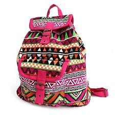 Jacquard Backpack - Ethnic Hippy Fabric Rucksack Shoulder Bag Cotton Bags