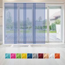 Rideau panneau rideau de tissu rideau transparent cloison voile b60xl245 cm
