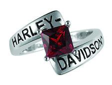 Harley Davidson Garnet Ring -  by The Franklin Mint