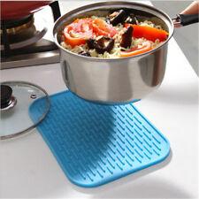 Rectangular Silicone Thicken Heat-resistant Pot Mat For Kitchen Accessories AE