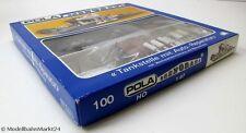 POLA 100 Tankstelle mit Auto-Reparatur beleuchtet Bausatz für Spur H0 1:87 - OVP