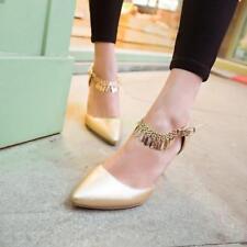 Sexy Womens High Stilettos Buckle Wedding Office OL New Stylish Shoes Pointy Toe