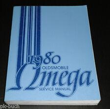 Werkstatthandbuch / Service Manual Oldsmobile Omega 1980