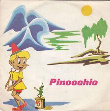 """PINOCCHIO - fiaba sonora 45"""""""
