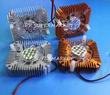 Aluminum Heatsink with fan for 5W/10W High Power LED light Cooling Cooler DC12V