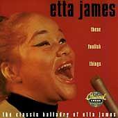 ETTA JAMES - These Foolish Things (Original Chess Masters Used CD, Mar-1995,)