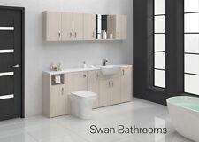 Elementi principali Bianco Bagno Montato Furniture 2000 mm con unità muro