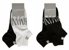 Confezione 2 paia calze calzini girocaviglia uomo EMPORIO ARMANI articolo 302228
